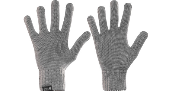 Jack Wolfskin Milton Handschoenen grijs